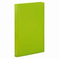【送料無料・単価95円・600セット】キングジム フラットファイルシンプリーズ A4 4437SP 黄緑(600セット)