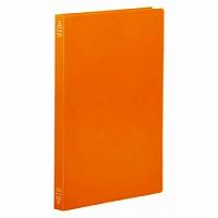 【送料無料・単価95円・600セット】キングジム フラットファイルシンプリーズ A4 4437SP オレンジ(600セット)
