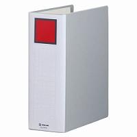【送料無料・単価729円・60セット】キングジム キングファイル A4 タテ 900枚収納 両開き 2479A グレー(60セット)