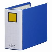 【箱買い商品 / 一箱120セット】キングジム KING JIM キングファイル スーパードッチ B6E 2425A青 (納期優先の為単品詰合せの場合が御座います)
