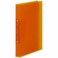 【送料無料・単価196円・250セット】キングジム リングファイル(透明) シンプリーズ オレンジ A4 641TSPオレ(250セット)