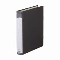【箱買い商品 / 一箱100セット】キングジム KING JIM リングバインダーBFA4縦 669BF黒 (納期優先の為単品詰合せの場合が御座います)