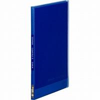 【送料無料・単価165円・300セット】キングジム クリアーファイル シンプリーズクリアーファイル(透明)20Pコバルトブルー A4縦型 186TSPコハ(300セット)