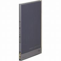 【送料無料・単価161円・300セット】キングジム クリアーファイル シンプリーズクリアーファイル(透明)20Pグレー A4縦型 186TSPクレ(300セット)