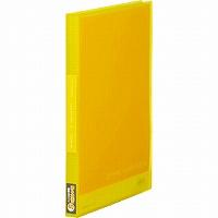 【送料無料・単価282円・160セット】キングジム クリアーファイル シンプリーズ 透明 A4S 40P 186TSPW 黄色(160セット)