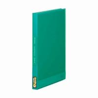 【送料無料・単価282円・160セット】キングジム クリアーファイル シンプリーズ 透明 A4S 40P 186TSPW 緑(160セット)