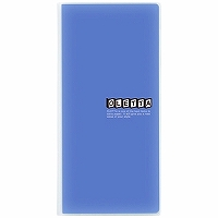 【箱買い商品 / 一箱200セット】キングジム KING JIM オレッタA4ミツオリホルダー 796青 (納期優先の為単品詰合せの場合が御座います)