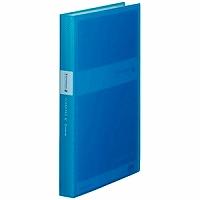 【送料無料・単価364円・120セット】キングジム シンプリ-ズクリアーファイル(透明)GX60P 青 A4S 186-3TSPGXアオ(120セット)