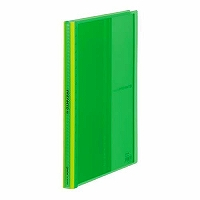 【送料無料・単価571円・100セット】キングジム クリアーファイルパタント40P 緑 182TPNWミト(100セット)
