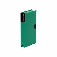 【送料無料・単価618円・120セット】キングジム カードホルダー カーズ 溶着式 43 緑(120セット)