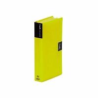 【送料無料・単価618円・120セット】キングジム カードホルダー カーズ 溶着式 43 黄(120セット)