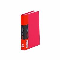 【送料無料・単価317円・180セット】キングジム クリアーファイルミニ 91Cアカ A6S 赤(180セット)