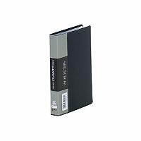 【送料無料・単価317円・180セット】キングジム クリアーファイルミニ 91C A6S 黒(180セット)