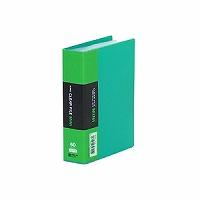 【送料無料・単価483円・120セット】キングジム クリアーファイルミニ 92C A6S 緑(120セット)