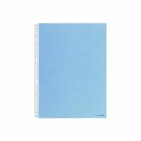 【送料無料・単価469円・100セット】キングジム カラーベースポケット 104CP B4S 青(100セット)