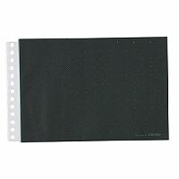 【送料無料・単価232円・200セット】キングジム カラーベースポケット B6E 101CPクロ(200セット)