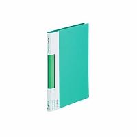 【送料無料・単価671円・120セット】キングジム サイドイン クリアーファイル カラーベース B5S 127C 緑(120セット)