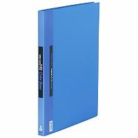 【送料無料・単価1676円・40セット】キングジム クリアーファイル カラーベース 差替式 B4S 149 青(40セット)