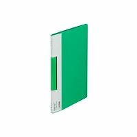 【送料無料・単価403円・120セット】キングジム サイドイン クリアーファイル カラーベース B5S 127CH 緑(120セット)