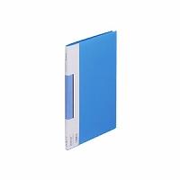 【送料無料・単価403円・120セット】キングジム サイドイン クリアーファイル カラーベース B5S 127CH 青(120セット)