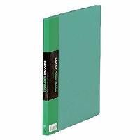 【送料無料・単価537円・120セット】キングジム クリアーファイル カラーベース B5 (S型) 20枚 122C 緑(120セット)
