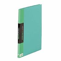 【送料無料・単価571円・120セット】キングジム クリアーファイル カラーベース A4 (S型) 20枚 132C 緑(120セット)