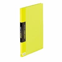【送料無料・単価571円・120セット】キングジム クリアーファイル カラーベース A4 (S型) 20枚 132C 黄緑(120セット)