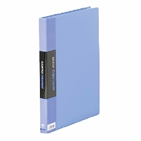 【送料無料・単価1006円・60セット】キングジム クリアーファイル カラーベース W A4S 132CW 青(60セット)