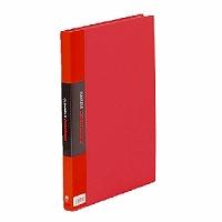 【箱買い商品 / 一箱60セット】キングジム KING JIM クリアーファイル A4S 132CW赤 (納期優先の為単品詰合せの場合が御座います)