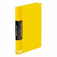 【送料無料・単価1006円・60セット】キングジム クリアーファイル カラーベース W A4S 132CW 黄(60セット)