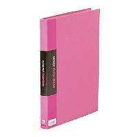 【送料無料・単価1006円・60セット】キングジム クリアーファイル カラーベース W A4S 132CW ピンク(60セット)