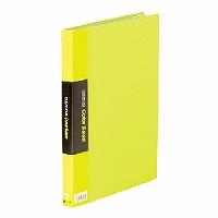 【送料無料・単価1006円・60セット】キングジム クリアーファイル カラーベース W A4S 132CW 黄緑(60セット)