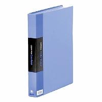 【箱買い商品 / 一箱40セット】キングジム KING JIM クリアーファイル A4S 132-3C青 (納期優先の為単品詰合せの場合が御座います)