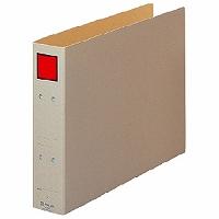【送料無料・単価486円・120セット】キングジム 保存ファイル B4 ヨコ 500枚 4395E 赤(120セット)
