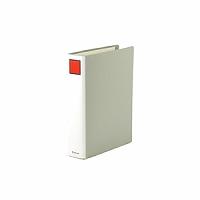 【送料無料・単価569円・80セット】キングジム キングファイル スーパードッチ A4S 1475 グレー(80セット)