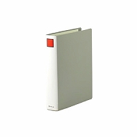 【送料無料・単価569円・80セット】キングジム キングファイル スーパードッチ A4S 1474 グレー(80セット)