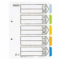 【送料無料・単価144円・300セット】キングジム カラーインデックス B5S 905-2K(300セット)