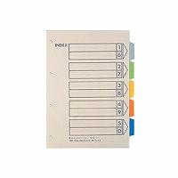 【送料無料・単価618円・80セット】キングジム カラーインデックス A4S 907-4(80セット)