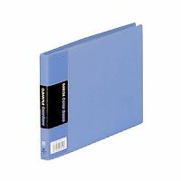 【箱買い商品 / 一箱120セット】キングジム KING JIM クリアーファイル B6E 110C青 (納期優先の為単品詰合せの場合が御座います)