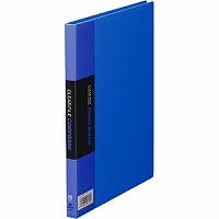【箱買い商品 / 一箱120セット】キングジム KING JIM クリアーファイル A5S 115C青 (納期優先の為単品詰合せの場合が御座います)