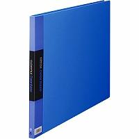 【送料無料・単価1341円・60セット】キングジム クリアーファイル カラーベース A3 (E型) 150C 青(60セット)