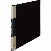 【送料無料・単価1341円・60セット】キングジム クリアーファイル カラーベース A3 (E型) 150C 黒(60セット)
