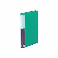 【送料無料・単価517円・90セット】キングジム クリアーファイル SE A4S 40P 5136W 緑(90セット)