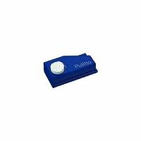 【送料無料・単価314円・200セット】カール事務器 ポータブル2穴パンチ プチット ブルー PP-01-B(200セット)