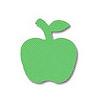 【箱買い商品 / 一箱240セット】カール ミニクラフトパンチアップル CN12092 (納期優先の為単品詰合せの場合が御座います)
