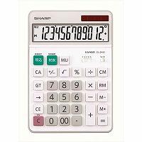 """【箱買い商品 / 一箱40セット】シャープ/電卓 セミデスクサイズ 12桁EL-S452X/"""" (納期優先の為単品詰合せの場合が御座います)"""