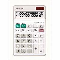 """【箱買い商品 / 一箱40セット】シャープ/電卓ナイスサイズ 12桁EL-N432X/"""" (納期優先の為単品詰合せの場合が御座います)"""