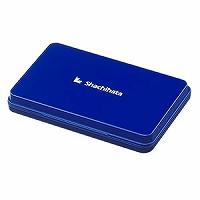 送料無料 単価734円 180セット シヤチハタ スタンプ台 HGN-3-B 大形 藍 180セット 数量限定,人気