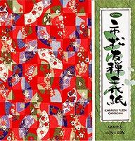 Shawwagrim マーケット city 中古 松友 Zen chiyogami 23-1977 市松友禅千代紙 単価140円 360セット ショウワグリム 送料無料