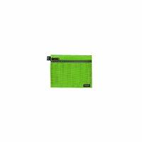 【箱買い商品 / 一箱200セット】セキセイ メッシュケースA6Lグリーン CP-3340-33 (納期優先の為単品詰合せの場合が御座います)